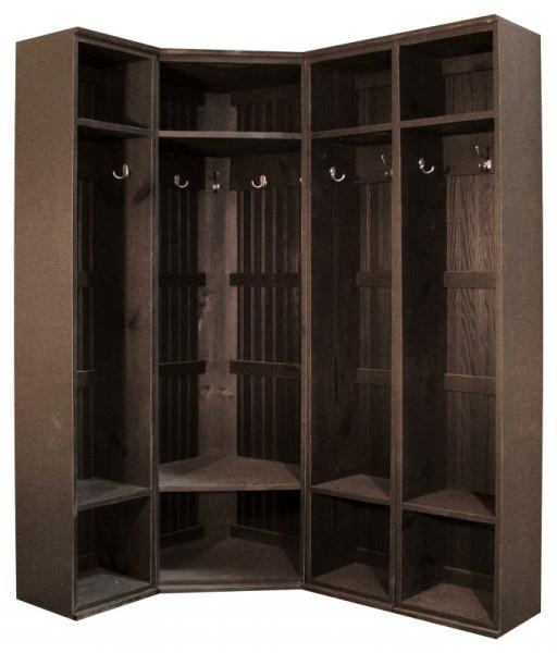 Inside Corner Locker Storage Solutions Mudroom Lockers Laundry Room