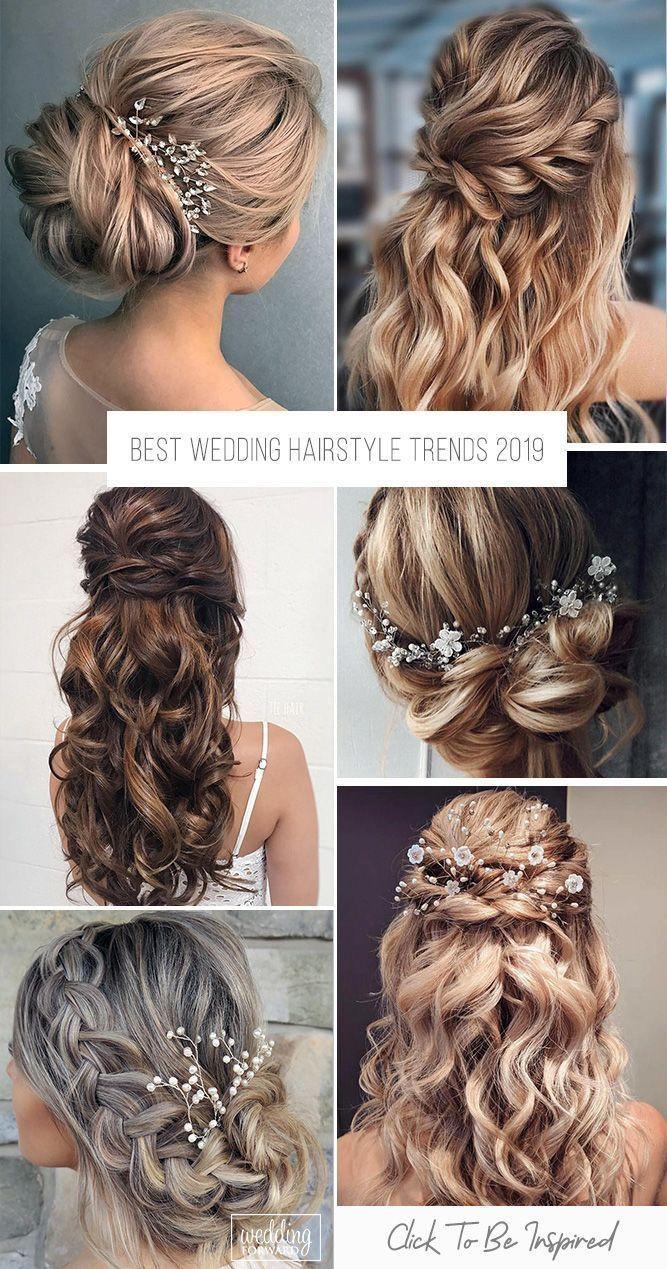 Meilleures tendances en hairstyle de mariage 2019 ❤️ La dernière selected dont …
