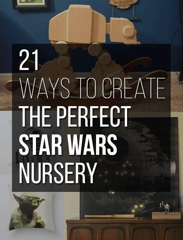 21 Wunderbar geeky Wege, die perfekte Star Wars-Baumschule zu schaffen