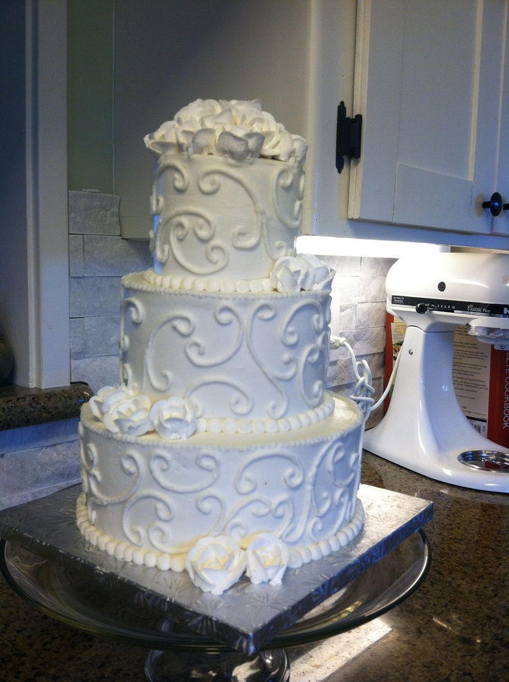 Tier Wedding Cakes Pictures