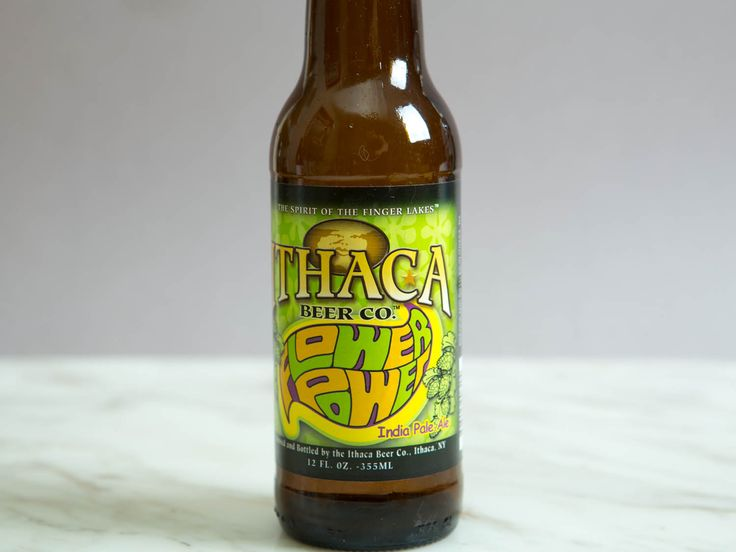 Ithaca Beer Co. Flower Power.