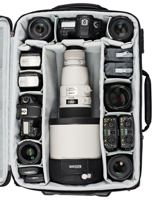 Pro Roller x-Series AW Rolling Camera Bags | Lowepro
