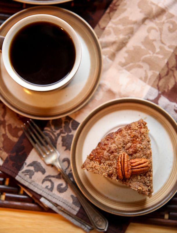 Streusel-Topped Breakfast Beer Coffeecake