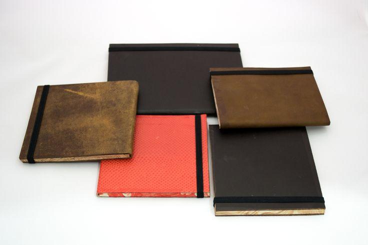 leather journals - by. Adriana Herrera ♥