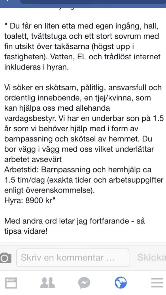Stockholms bostadsmarknad.