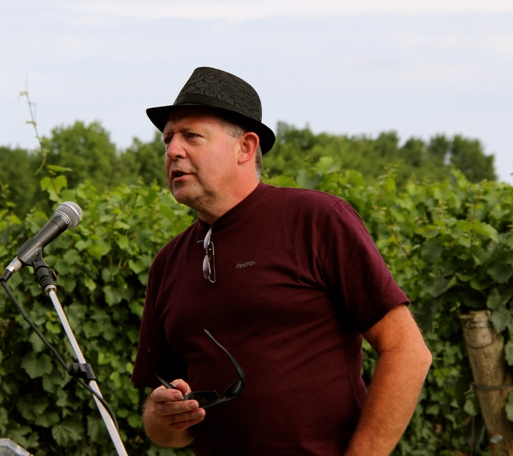 Jean-Pierre Colas is the winemaker at 13th Street Winery in St. Catharines, Ontario. (Photo by Bruce Jackson / Jackson-Triggs)