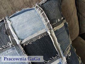jeans pillow