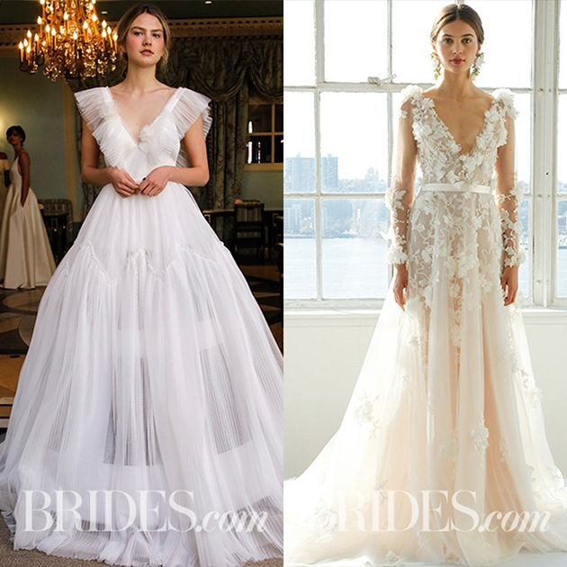 The Top 16 Wedding Dresses from Bridal Fashion Week | Brides.com