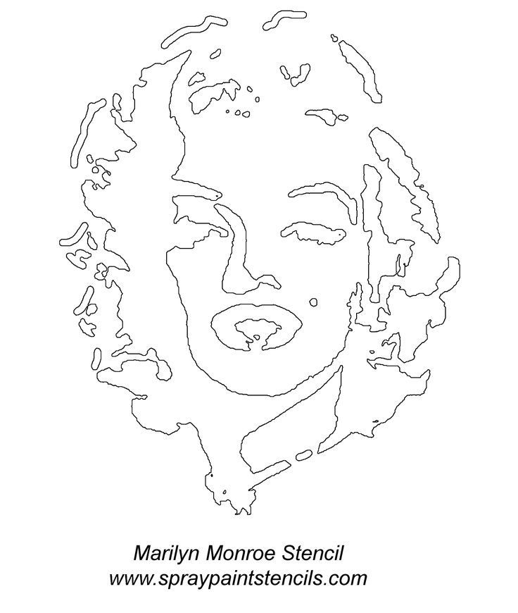 All sorts of free stencil printables