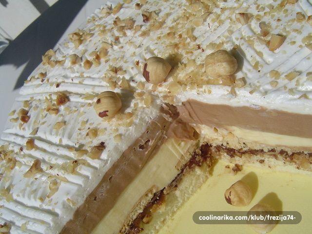 Ovo je moj 10-ti receptić na cooliki. Ispričavam se svima koji su dugo čekali recept za ovu tortu ;)!