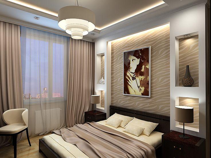 Дизайн спальни. Вариант N1 (800x600) нажмите для просмотра в полный размер