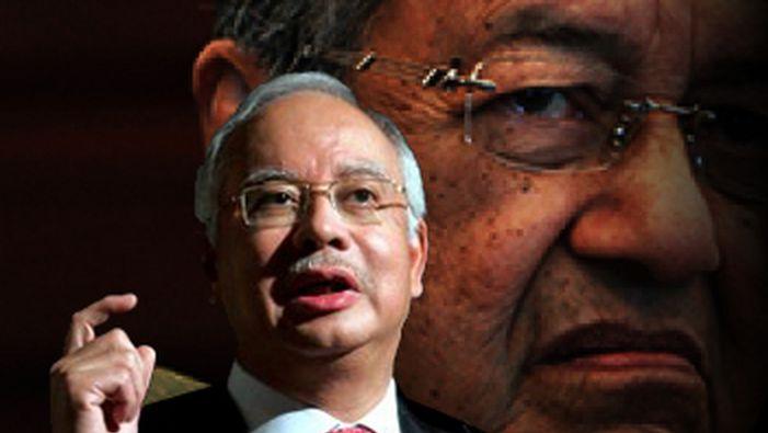 Mahathir minta Najib berhenti, banyak skandal tak dapat jawab - http://malaysianreview.com/115143/mahathir-minta-najib-berhenti-banyak-skandal-tak-dapat-jawab/