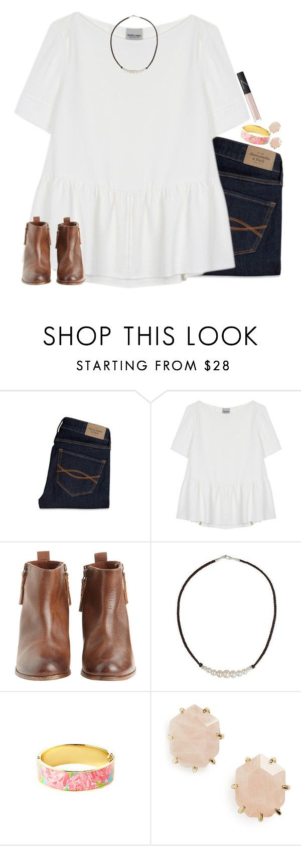 """Simplicity."" by maliaackermann ❤ liked on Polyvore featuring Abercrombie & Fitch, Rachel Comey, Hoss Intropia, NOVICA, Kendra Scott and NARS Cosmetics"
