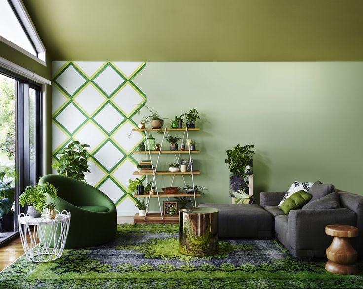 Earthwerks - Get the look, Dulux Paints #domain #gardenpond #canadianpine #snowgreenquarter