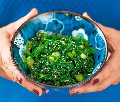 Marinerad spenat med sesam | marinated spinach with sesame
