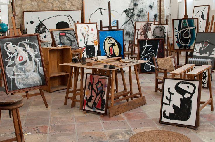 Joan Miro's studio, Mallorca
