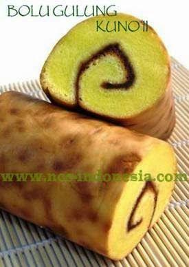 Catering Pasuruan Bu Badriyah 082245556554 79DE4B98: Resep Bolu gulung kuno