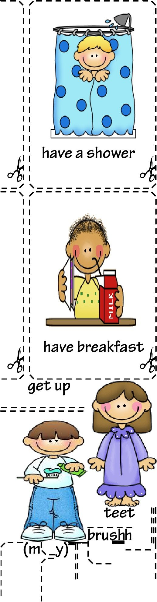 Günlük yaşam kartları - daily cards