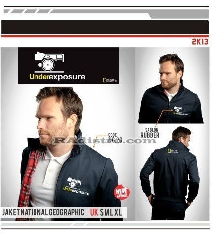 jual jaket national geographic online murah (NG 20) Under Exposure