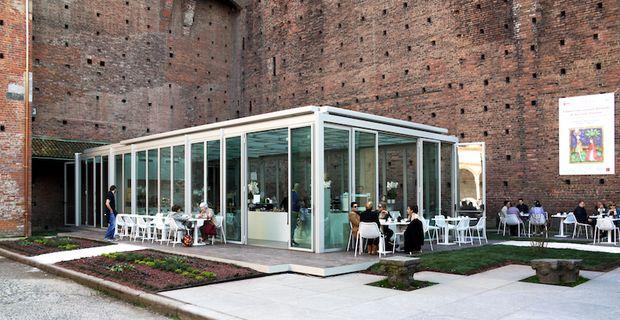 Calicantus Cafè | Castello Sforzesco | Studio ARCò and Studio Ariano | Milan (Italy)