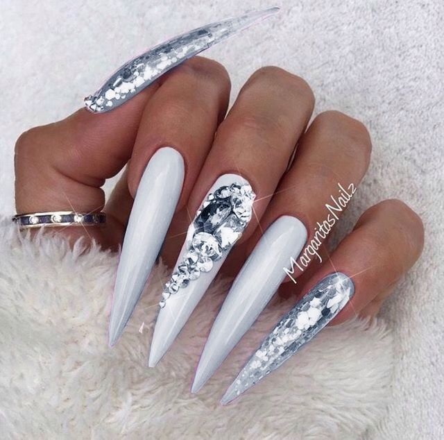 Long Stiletto Nail Art: 1238 Best Nails Images On Pinterest