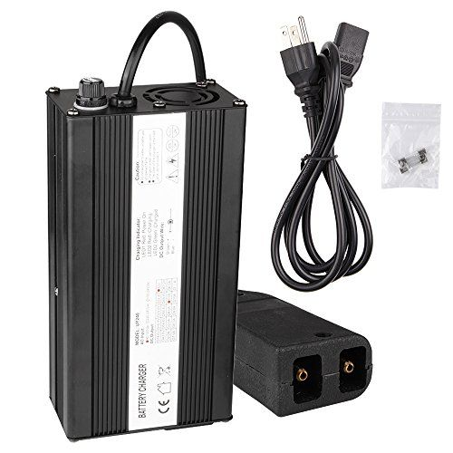 36 Volt 5 Amps Golf Cart Battery Charger E-ZGO Powerwise Connector, 36 Volt Trickle Charger