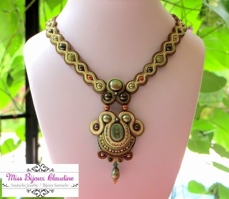 Soutache from Miss Bijoux Claudine - november 2015