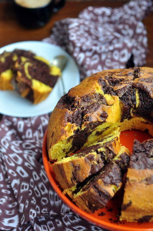 Тыквенно-шоколадный кекс - something sweet to a cup of coffee