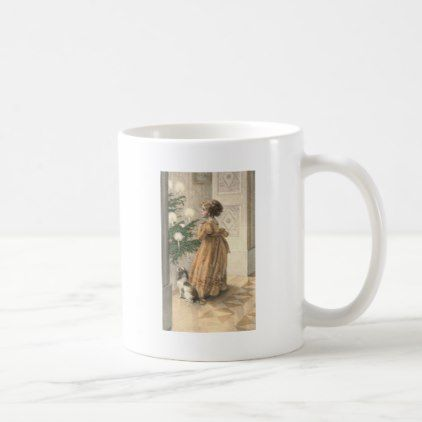 #Victorian Christmas Retro Vintage Holiday Coffee Mug - #office #gifts #giftideas #business