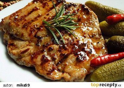 Krkovička v česnekovo - chilli marinádě recept - TopRecepty.cz............ https://www.toprecepty.cz/recept/52220-krkovicka-v-cesnekovo-chilli-marinade