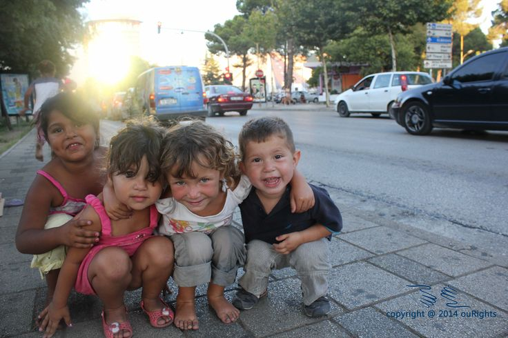 One image of thousands of children across Albania in situations of begging on the streets that ouRights is in contact with and helping to get off the streets and into schools.