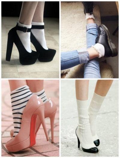 【今季秋冬取り入れたい!】一気におしゃれな「靴下×シューズ」コーデ