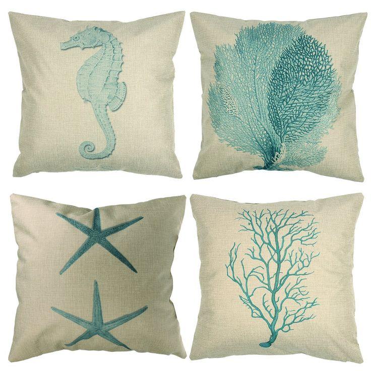 oltre 20 migliori idee su cuscini corallo su pinterest | camera