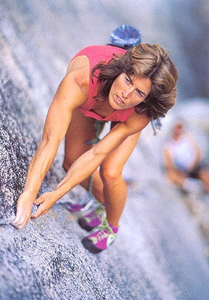 Lynn Hill (*1961), US rock climber, first free-climbing ascent of the legendary Nose route on El Capitan in Yosemite Valley
