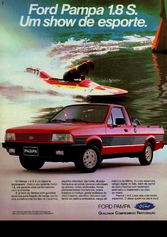 1991 Ford Pampa 1.8 S - Brasil