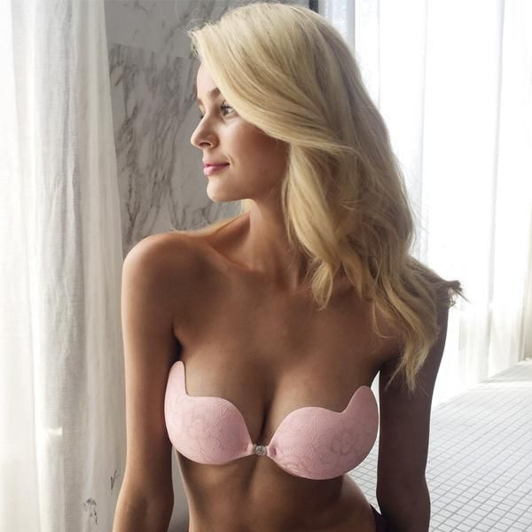 """The """"Extra Layer Bra"""" gives you that extra lift that will make the difference! Shop now link in our BIO! #sexybra #uniquelook #pinkbra #readytowear2017 #pushupbra #smashshops #diva"""