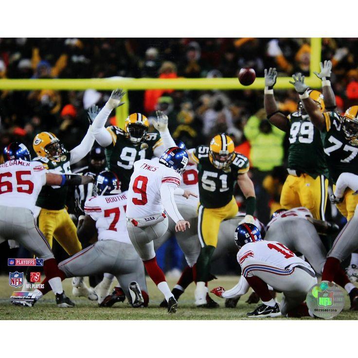 Lawrence Tynes Kick vs Green Bay 8x10 Photo