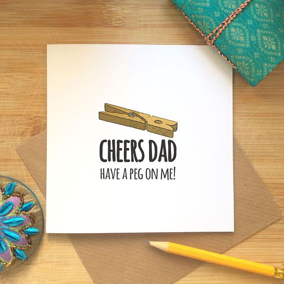 Funny Father's Day Card Desi Jokes Indian themed Cheers