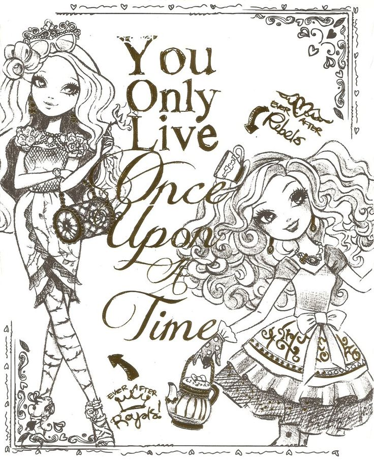 EVER AFTER HIGH COLOR PAGE 4 by obscurepairing on deviantART