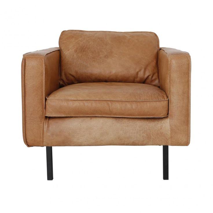 25 beste idee n over lederen fauteuil op pinterest sofa 39 s - Chaise rock bobois leer ...