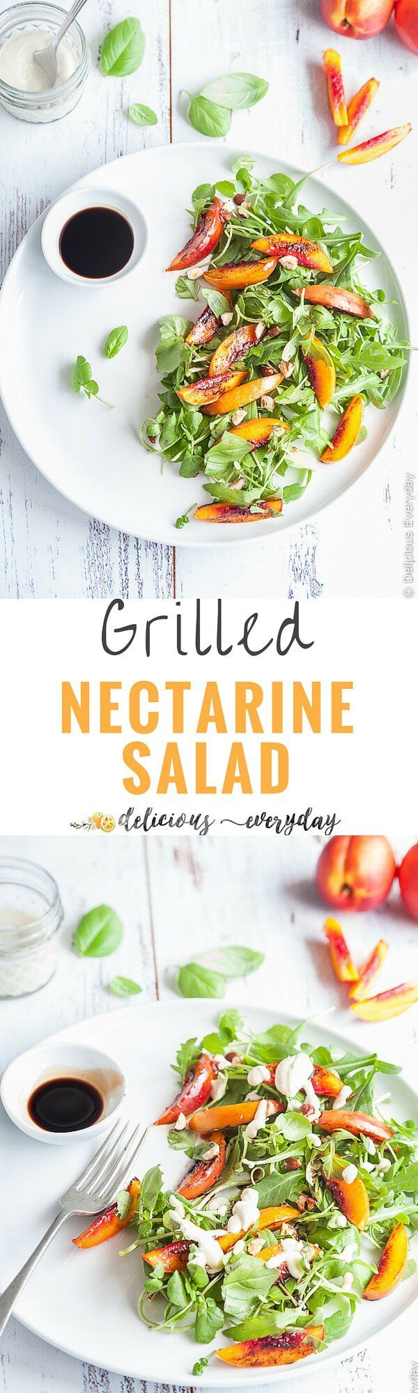 3272 best vegan dinner recipes images on pinterest vegan recipes vegan grilled nectarine salad a gorgeously simple salad with the sweetness of forumfinder Choice Image
