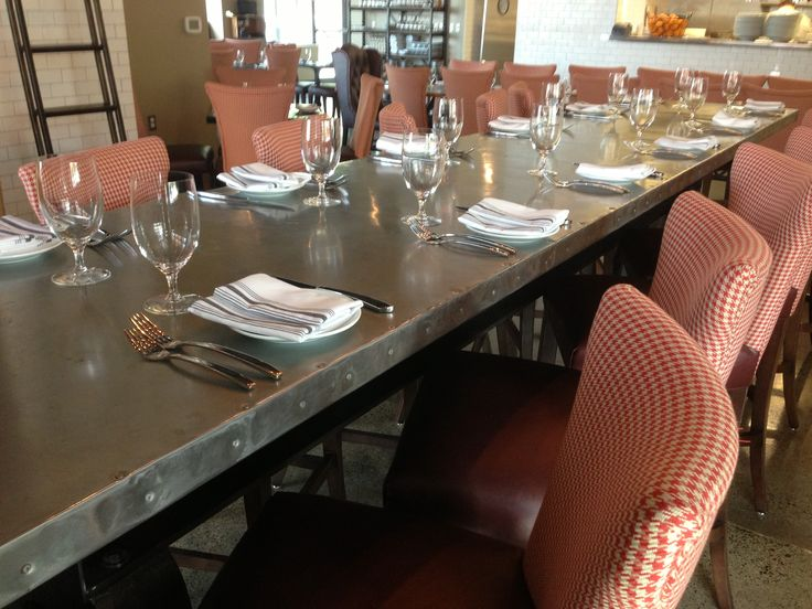 Commercial Dining Room Tables Magnificent 95 Best Communal Table Images On Pinterest  Homes Chairs And Inspiration