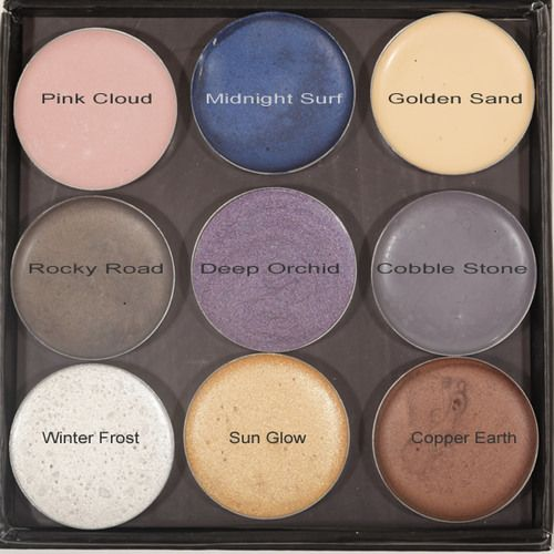 Meisha Cream Eye Shadow is a natural gluten free and titanium dioxide free crème blush which comes in earth tones, white shimmer, gold shimer, deep violet, gray, brown, and pink and is at All Natural Cosmetics.