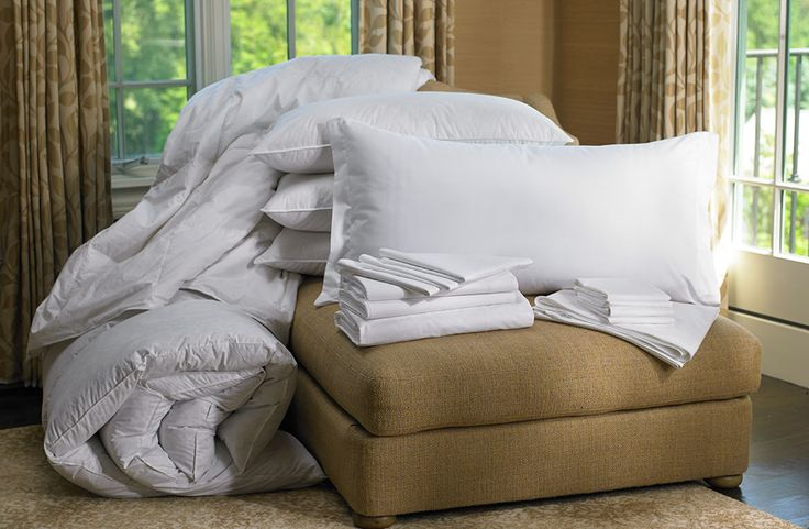 Ritz-Carlton Hotel Shop - Bedding - Luxury Hotel Bedding, Linens ...