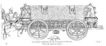 14th Century English carriage