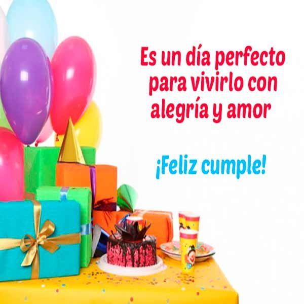 Tarjetas de cumpleaños para enviar por whatsapp | Imagenes whatsapp | Frases de amor | Postales bonitas