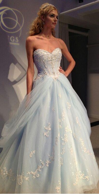 Cinderella Dress,Light Blue Quinceanera Dresses,Prom Dress,Ball Gown Prom Dress,Custom Made Formal Prom Dress,Quinceanera Dresses