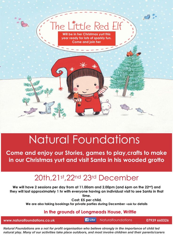 Natural Foundations Christmas Activies #Essex