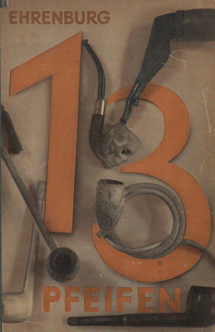 John Heartfield - Cover for 13 Pfeifen (13 Pipes), 1930