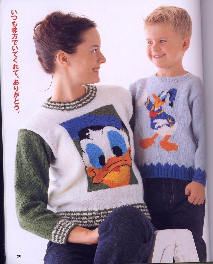 儿童提花毛衣 - 水心云影 - 水心云影的博客
